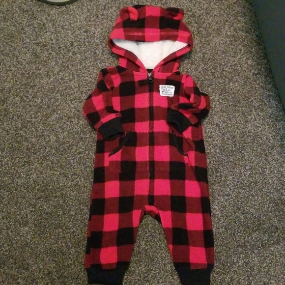Carter's Other - Fleece romper
